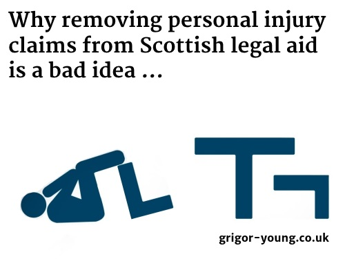 Legal Aid Logo With Injured Person