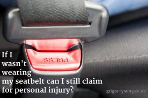 Close-up of the buckle of a seat belt or safety belt vehicle safety device concept of safe driving and transportation by car.
