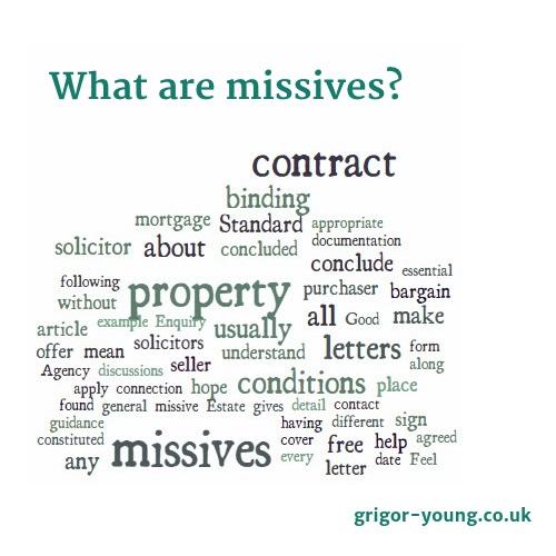 Missives Word Cloud