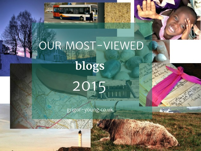 Collage of Images Featured in Grigor & Young Blog Articles 2015