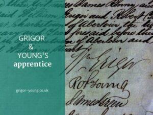Grigor & Young's Apprentice - 1853 - 1858