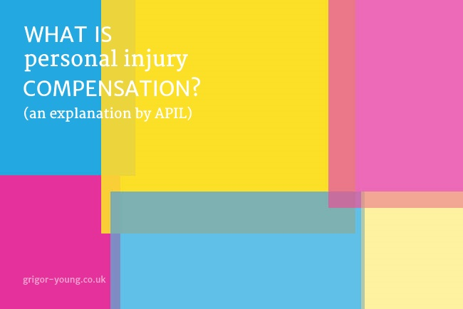 "Colourful Mosaic Pattern from APIL's ""Compensation Explained"" eBooklet Cover"
