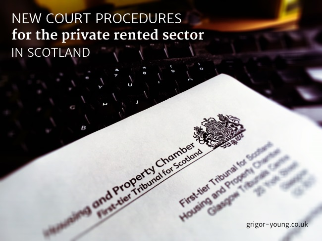Letter from the Housing and Property Chamber - Tribunal