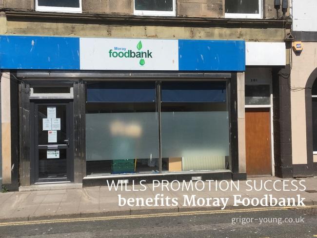 Moray Foodbank's premises, High Street, Elgin, Moray