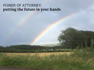 Double rainbow near Inchberry, Moray, August 2019