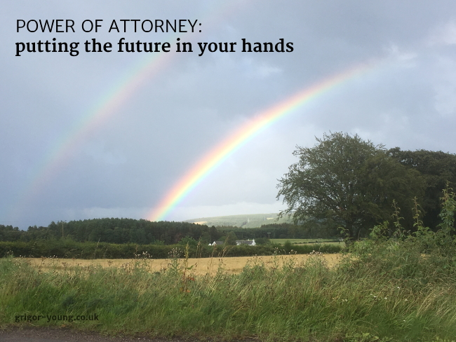 Double rainbow near Inchberry, Moray, August 2019