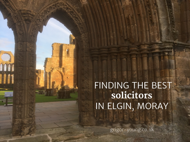 Elgin Cathedral, Moray