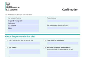 Excerpt-from-Confirmation-Form-relative-to-deceased-estate-in-Scotland